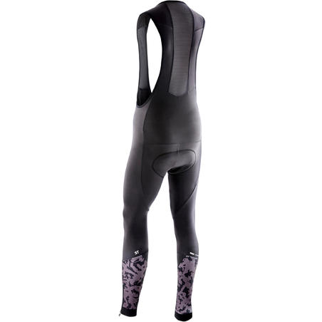 Men's Mountain Biking Bib Tights ST 500 - Black