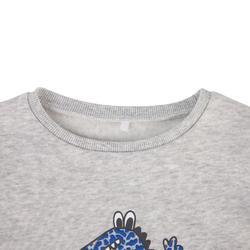 100 Baby Gym Sweatshirt - Crocodile Grey