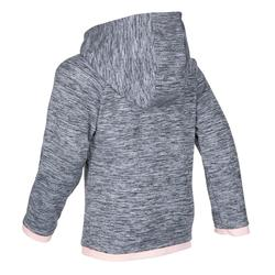 Baby Gym Jacket S500 - Grey/Pink