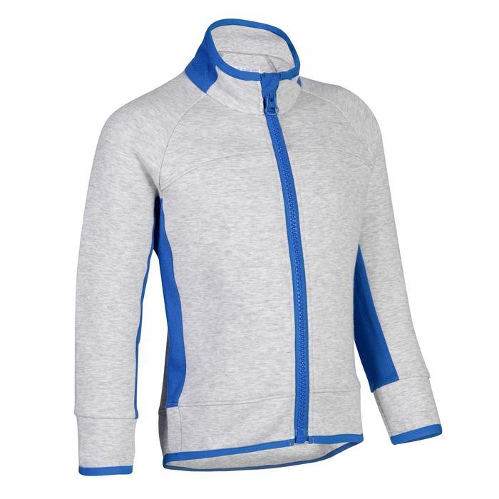 500 Baby Gym Jacket - Grey/Black