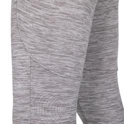 嬰幼兒體能活動緊身褲S500 - 灰色/粉色