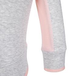 500 Baby Gym Jacket - Grey/Pink