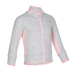 500 Baby Gym Jacket - Grey/Pink