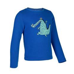 嬰幼兒體能活動運動衫100 - 藍色
