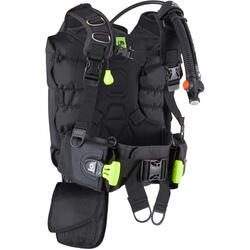 Scuba diving buoyancy jacket with back buoyancy 500 B SCD