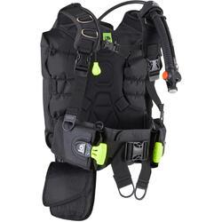 Scuba diving buoyancy jacket with back buoyancy 500 B SCD