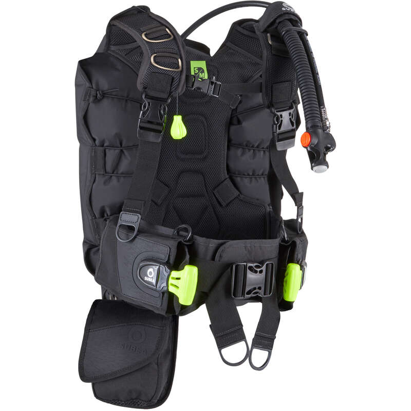 SCD GEAR & ACCESSORIES Scuba Diving - Stabilisa SCD500B back jacket SUBEA - Scuba Diving