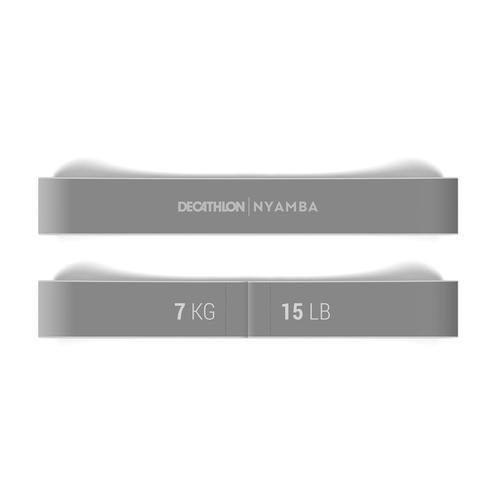 ELASTIQUE FITNESS 5KG/11LBS COURT TEXTILE TURQUOISE