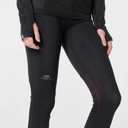 Hardloopbroek voor dames Kiprun Warm zwart