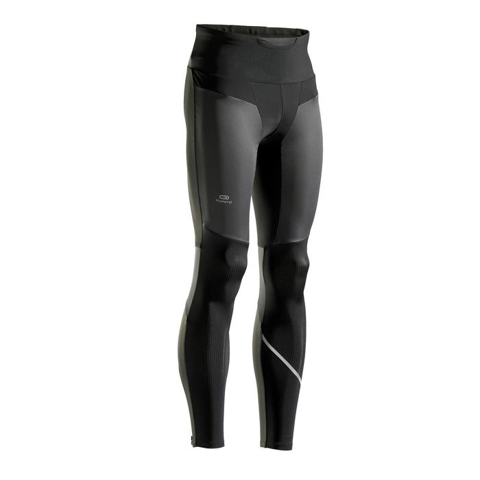 COLLANT RUNNING HOMME KIPRUN WARM RAIN NOIR