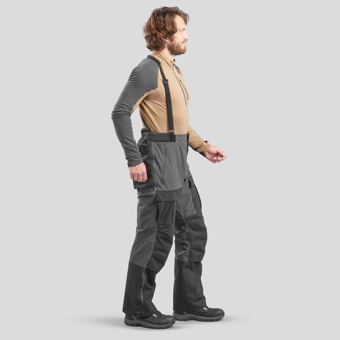 Pantalon chaud Arctique trekking 900 Unisexe Noir
