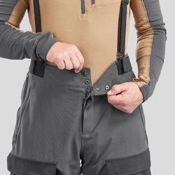 Pantalon chaud Arctique trekking 500 Unisexe A Noir