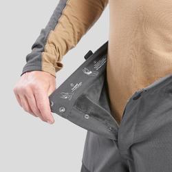 Arctic trekking warm trousers 500 Unisex A Black
