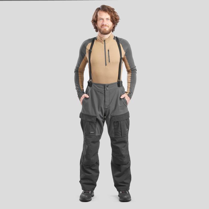 Trekkinghose Arctic 900 warm unisex schwarz