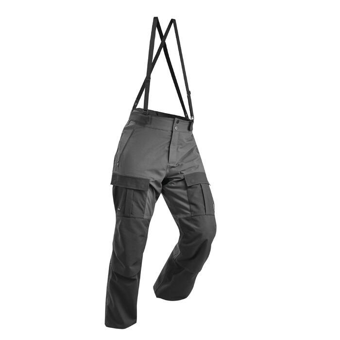 vendido en todo el mundo comparar el precio estilo máximo Pantalón Montaña y Trekking Artic Forclaz 500 Extra Warm Hombre Negro