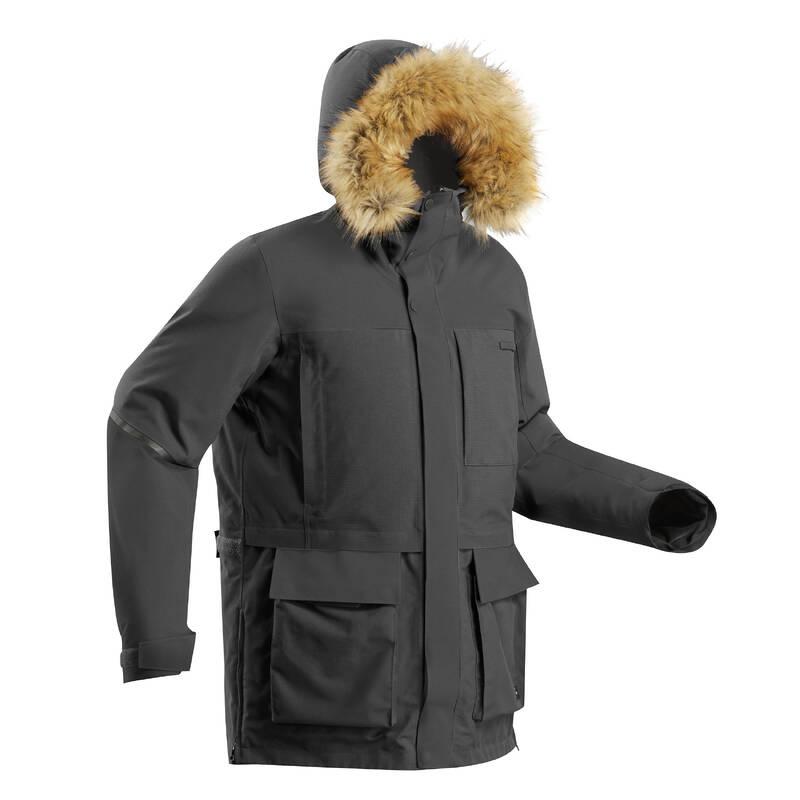 OBLEČENÍ NA ARKTICKÝ TREK Turistika - PARKA ARCTIC 500 X-WARM FORCLAZ - Turistické oblečení