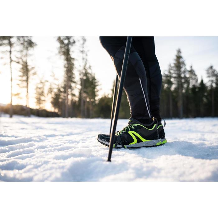 Walkingschuhe NW 900 FlexH Nordic Walking Herren schwarz/grün