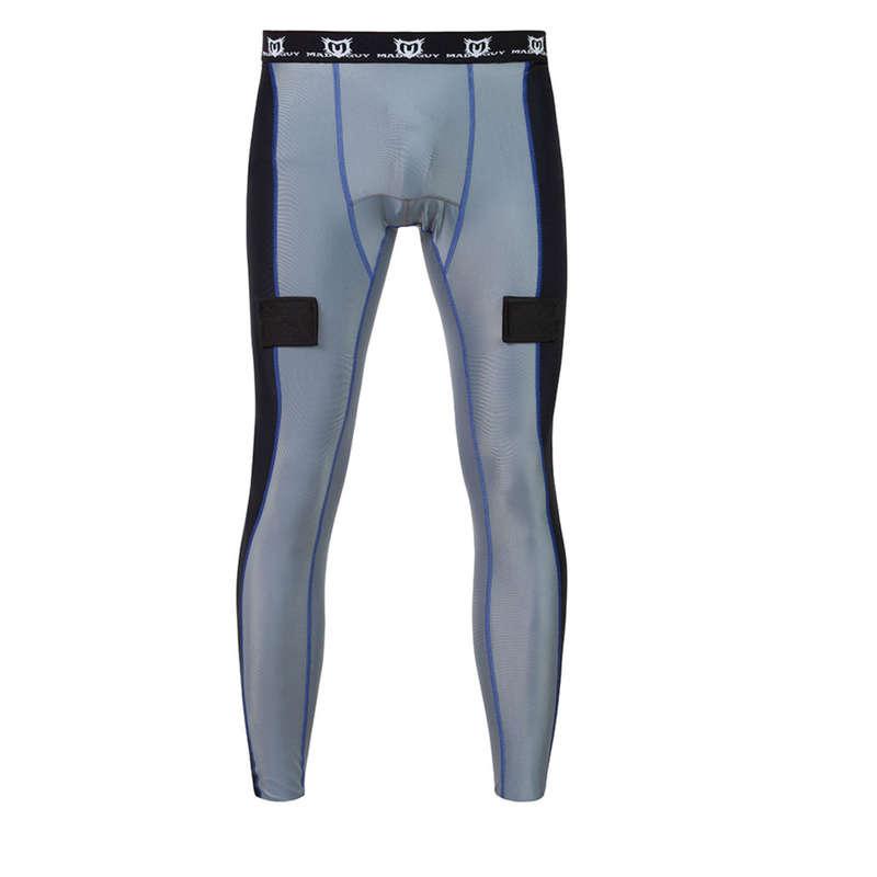 АКСЕССУАРЫ ИГРОКА Скольжение по льду - Хоккейные компрессионные штаны MAD GUY - Скольжение по льду