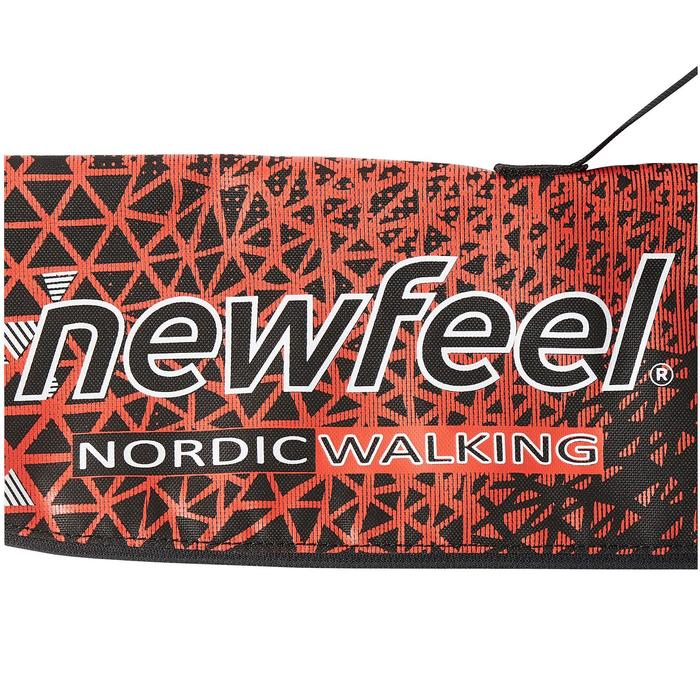Sac à bâtons marche nordique NW B500 rouge