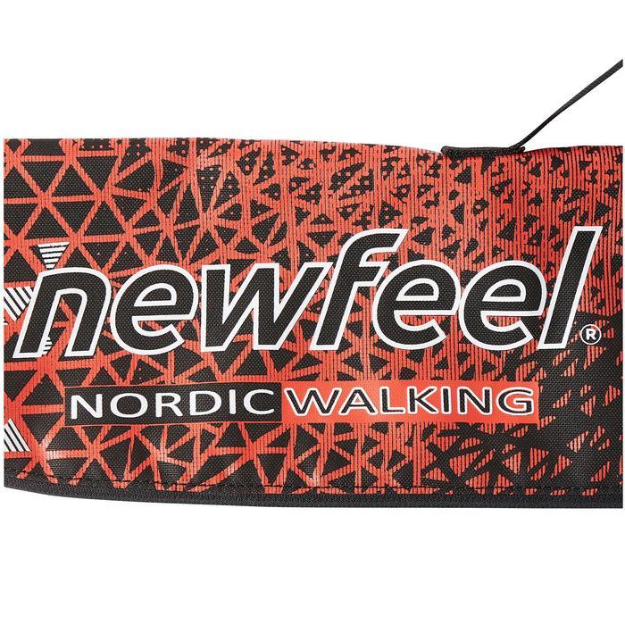 Tasche Nordic Walkingstöcke B500 rot