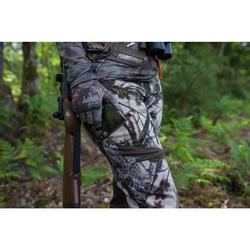 Geluidloze ademende camouflagebroek voor de jacht dames 500