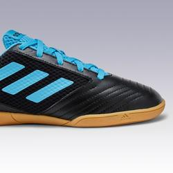 Hallenschuhe Futsal Fußball Predator Kinder schwarz/blau