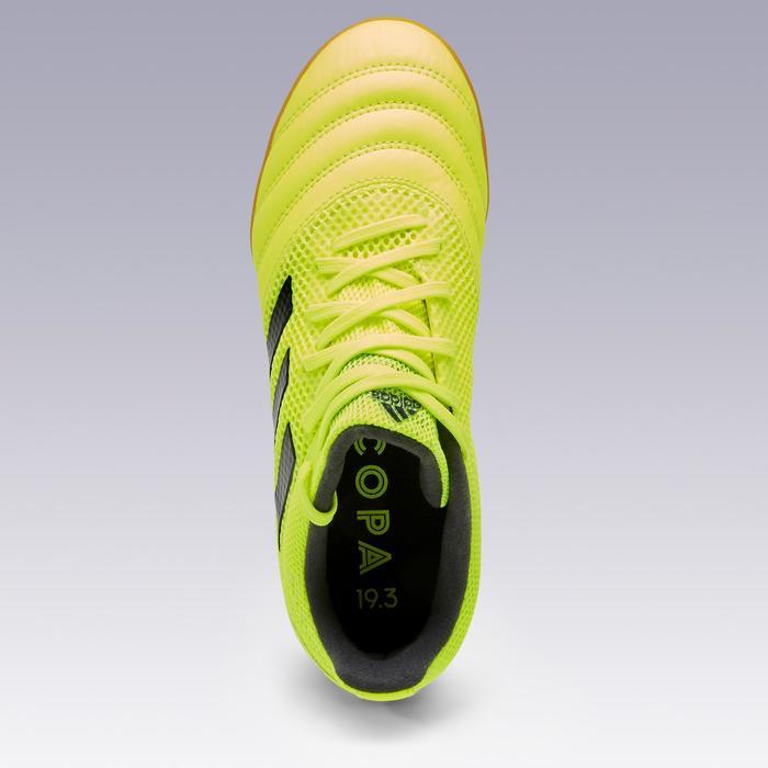 Zaalvoetbalschoenen voor kinderen Copa geel/zwart