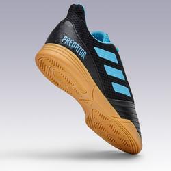 Zaalvoetbalschoenen Predator zwart/blauw