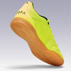 Hallenschuhe Futsal Fußball Copa Kinder gelb/schwarz