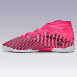 Chaussures de Futsal NEMEZIZ enfant Magenta Noir