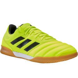 Zaalvoetbalschoenen Copa 19.3 Indoor sala geel/zwart