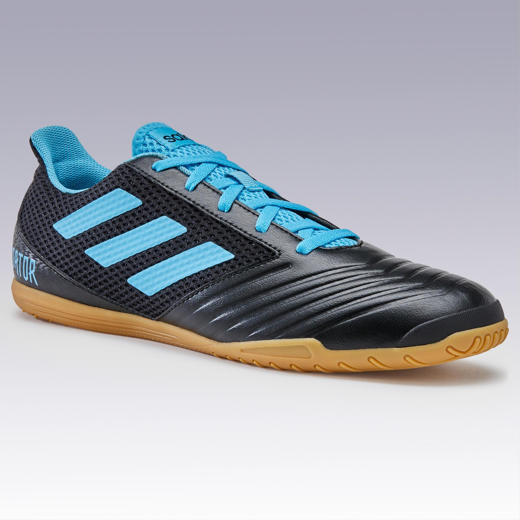 best sale new arrivals high fashion Hallenschuhe Futsal Fußball Predator Kinder schwarzblau ADIDAS