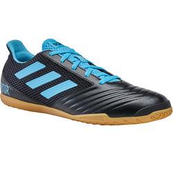 Hallenschuhe Futsal Fußball Predator Erwachsene schwarz/blau