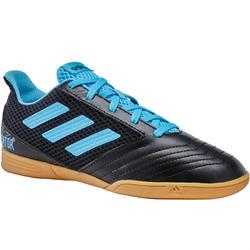 Zaalvoetbalschoenen kind Predator Tango 19.4 zwart/blauw