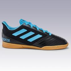 Zaalvoetbalschoenen voor kinderen Predator zwart/blauw