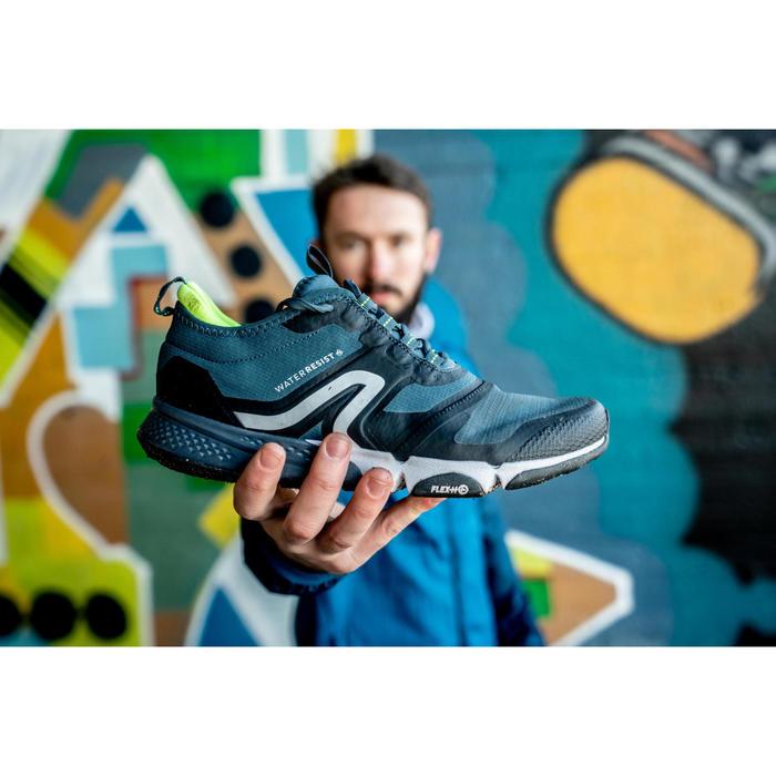 Chaussures marche sportive homme PW 580 WaterResist bleu