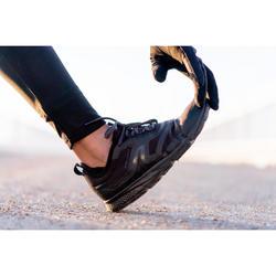Chaussures marche sportive femme PW 580 WaterResist full noir