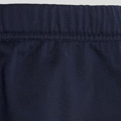Warm en ademend trainingspak voor gym meisjes GYM'Y S500 synthetisch blauw