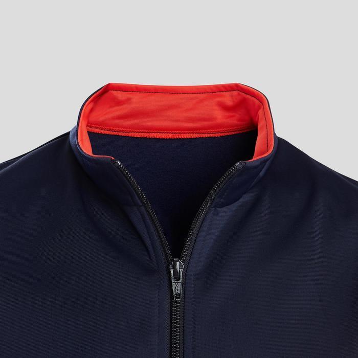 Chándal Gimnasia Domyos GYM'Y S500 Niño Niña 5-15 Años Rojo/Azul Transpirable