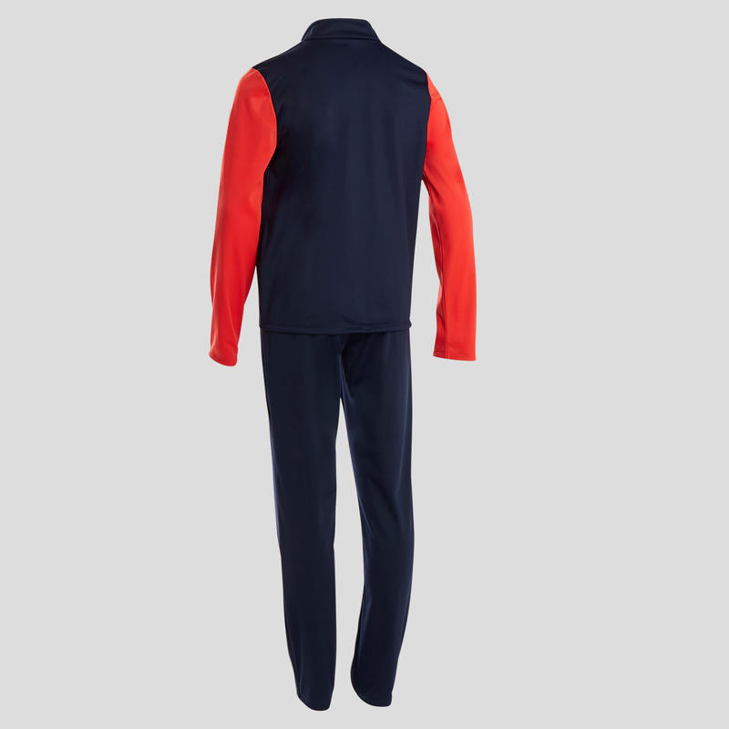 Survêtement GYM'Y chaud, synthétique respirant S500 garçon GYM ENFANT navy rouge