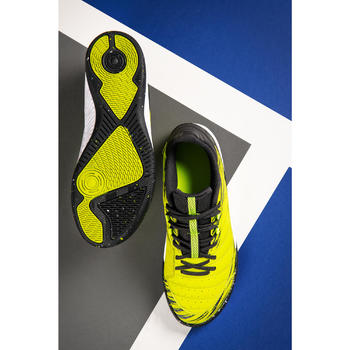 Kids' Futsal Trainers Eskudo 500 - Yellow
