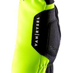 Wielrenhandschoenen RR900 winter fluogeel