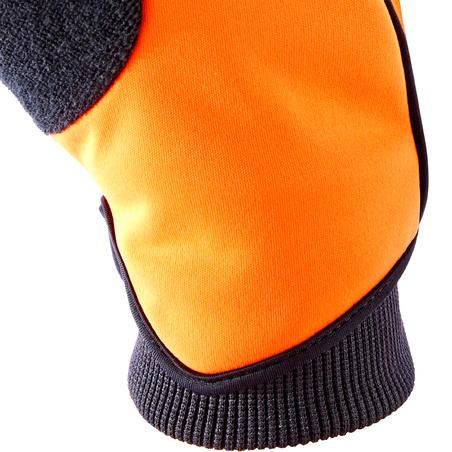 500 Winter Cycling Gloves - Orange