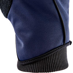 500 Winter Cycling Gloves – Blue