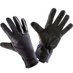 冬季自行車運動手套900 - 黑色