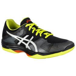 Zapatillas de Bádminton y Squash Asics GEL-TACTIC hombre negro y amarillo