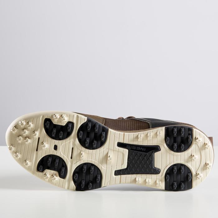 Chaussures de golf Inesis Grip Homme Hiver Marron