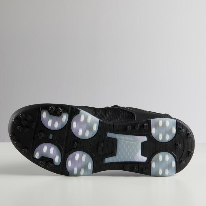 Chaussures de Golf Inesis Grip Homme Hiver Noir