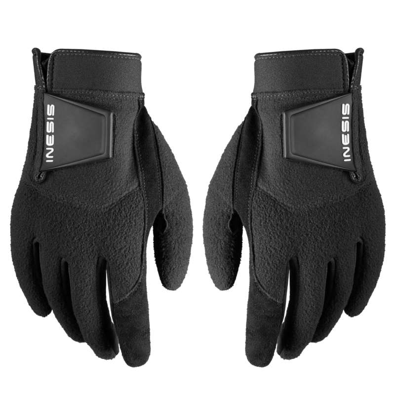GOLF BALLS, GLOVES, TEES Golf - MEN'S WINTER GLOVES BLACK INESIS - Golf Balls and Gloves