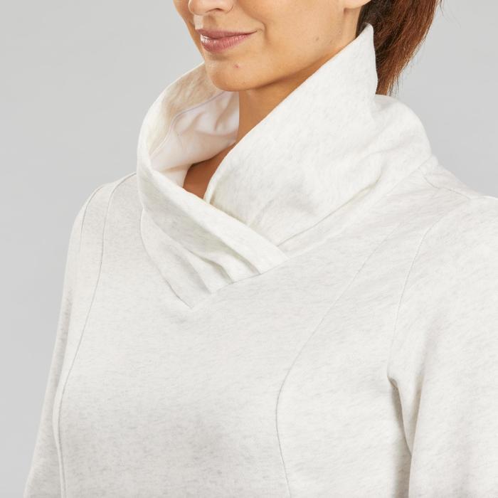Pullover Naturwandern NH500 Damen weiß